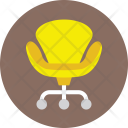 Chair Swivel Seat Icon