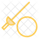 Sword Fence Knife Icon