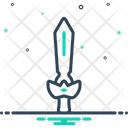 Sword Broadsword Skewer Icon