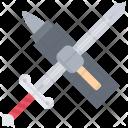 Sword Anvil Hammer Icon