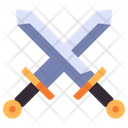 Medieval Iron Sword Icon