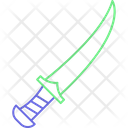 Sword Hand Knife Drager Knife Icon