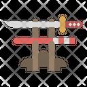 Sword Katana Knife Icon