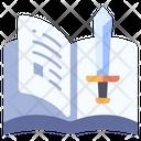 Sword Book Icon