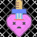 Sword heart Icon