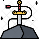 Sword in stone Icon