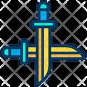 Swords Game War Game Combat Icon