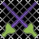Sword Fencing Fight Icon
