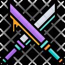 Antique Weapons Swords Icon