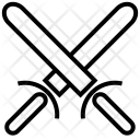 Swords Cross Security Icon