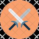Swords Defend Battle Icon