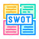 Swot Analysis Color Icon
