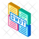 Swot Analysis Isometric Icon