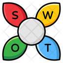 Swot Analysis Swot Matrix Strategic Planning Icon