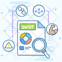 Swot Strength Data Analytics Icon
