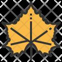 Sycamore Leaf Greenery Icon