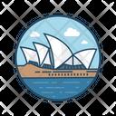Sydney Famous Building Landmark Icon