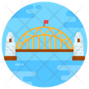 Sydney Harbor Bridge Arch Bridge Footbridge Icon