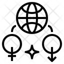 Symbol Internet Market Icon