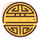 Symbol Chinese Coin Sign Icon