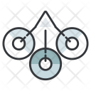 Symbol scrunches Icon