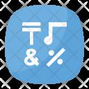 Input Symbols Emoji Icon
