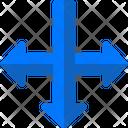 Symbols Gps Left Arrows Icon