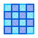 Symmetrical Tile Surface Icon