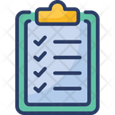 Document List Medical Record Icon
