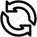 Processing Arrows Sync Icon