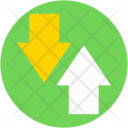 Syncing Arrows Uploading Icon