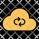 Cloud Refresh Storage Icon