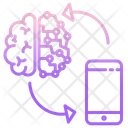 Isync Ai Technology Sync Ai Technology Sync Mind With Phone Icon