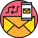 Sync Email Sync Email To Phone Email Synchronization Icon