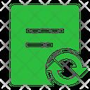 File Sync Sync File Icon
