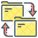 File Manager Sync Folders Icon