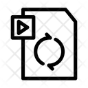 Sync video Icon