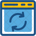 Sync Web Update Icon