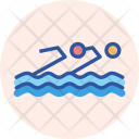 Synchronised Swimming Aquatics Icon