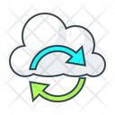 Synchronization Cloud Configuration Icon