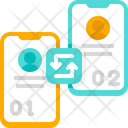 Synchronization Device Sync Mobile Icon