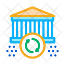 Synchronization Building Icon