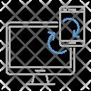Synchronization device Icon