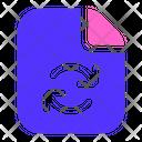 Sync Document File Icon