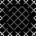 Synchronize Arrows Hexagon Icon