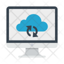Synchronize Cloud Repository Icon