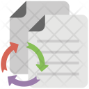 Data Exchange Information Icon