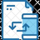 File Sync Document Icon