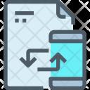 File Sync Synchronize Icon