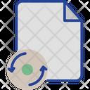 Document File Refresh Icon